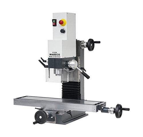 WABECO Präzisions Fräsmaschine und Bohrmaschine F1210 Made in Germany 1,4 kW Arbeitstisch 700x180 mm