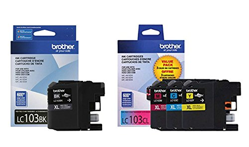 brother printer ink lc 103 - 2