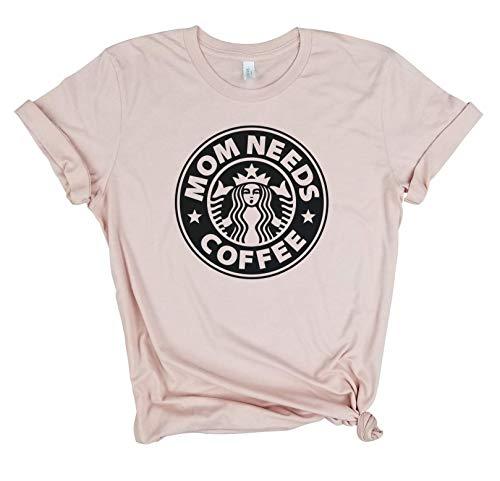 Mom needs Coffee - Funny coffee shirt, Funny Mom Shirt, Tired as a Mother, mom life shirt, mom hustle, Gift For mom, Blessed Mama shirt, mom gift, Mama Bear, unisex mom shirt, mama shirt, mama tee.