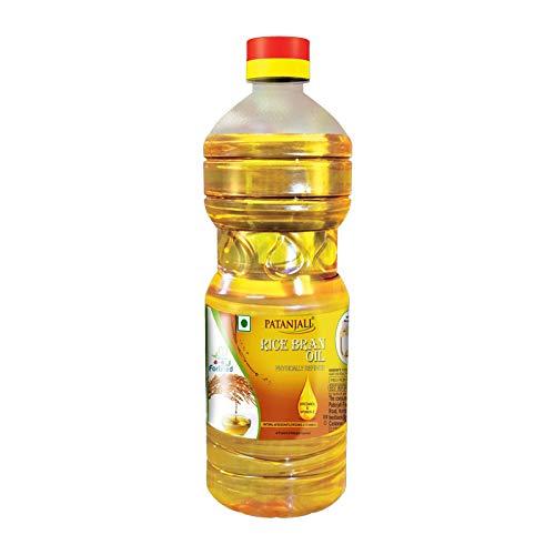 Patanjali Fortified Rice Bran Oil, 1 L