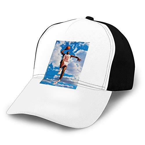 Gorra clásica de Michael Jordan con póster de béisbol...