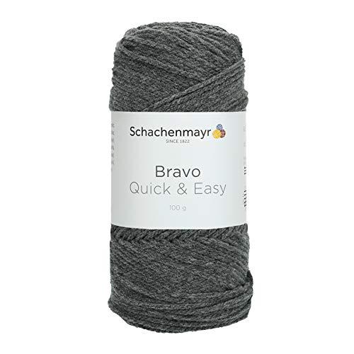 Bravo Quick & Easy 08319 mittelgrau meliert ca. 140 m 100 g