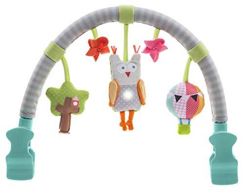 Taf Toys 11875 Zachte boog voor de kinderwagen rammelend speelgoed met muziek en licht