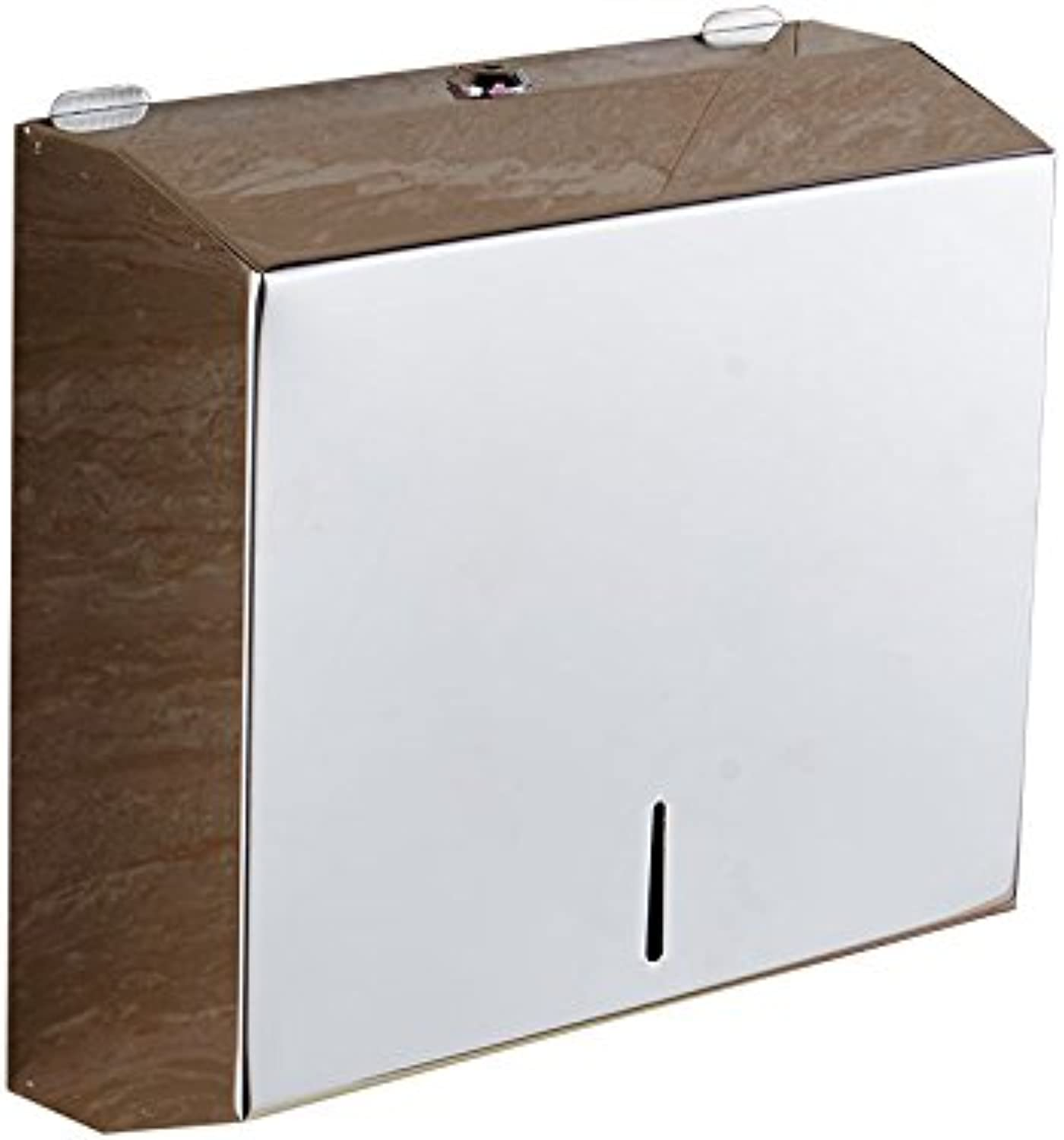 Hardwareh 304 Stainless Steel Hand Carton Toilet Paper Box Toilet Paper Box Hand Carton Toilet Paper Towel Box,Short Mirror 201 Stainless Steel Materialmodern Simple and Durable Home Decoration CLAS