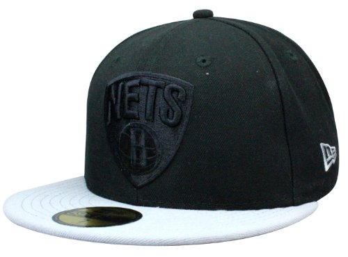 New Era Casquette Brooklyn Nets Pop Tonal | 59Fifty fitted Cap in Taille 6 7/8