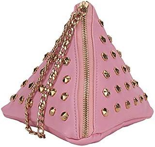 Yuejin Rivets Clutch bags YJ0754600XB Pink