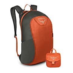 Pack stuffs into its own ultra-compact, built-in storage pocket Dual zippered main compartment Stretch mesh side gear or water bottle pocket Top zippered pocket for easy access to essential gear Pack Volume: 18 L/1098 cubic inches Durable 40D Nylon R...