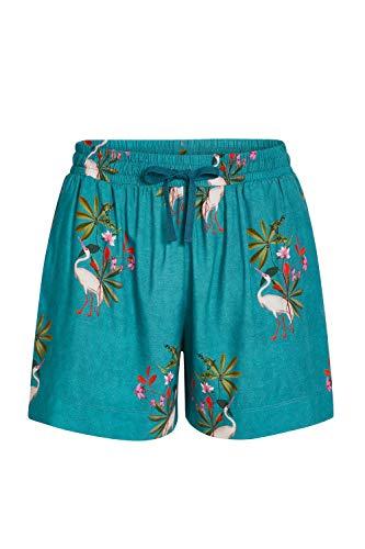 PiP Studio Bob Woven My Heron Trousers Short Größe 40, Farbe Heron Green