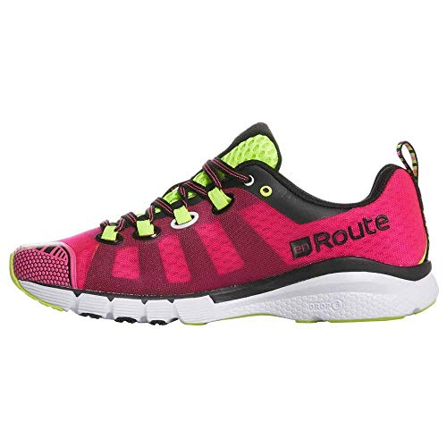 Salming Women Enroute Neutral Running Shoe Running Shoes Pink - Black 6