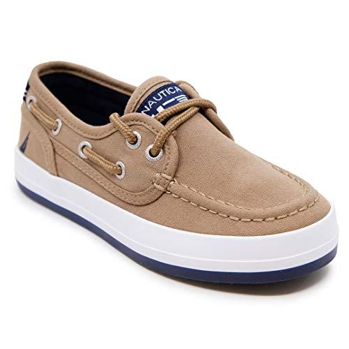Amazon Essentials Kids' Canvas Lace Up Sneaker, Black, 2 Medium US Big Kid