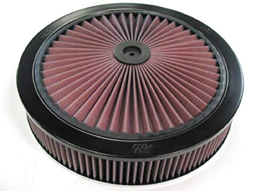 K&N X-Stream Top Air Filter: High Performance, Premium, Washable, Replacement Engine Filter: Shape: Round, 66-3040