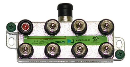 Directv 8-Way Wide Band Splitter for SWM LNB