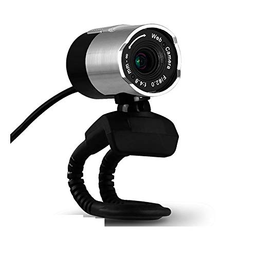 Diommest USB Computer HD 1080P Conference Webcam, Laptop Desktop Online Class Learning Home Video Call Webcam, Remote Office, Online Live uitzending van Media Webcam Compatibel met Windows