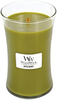 WoodWick Apple Basket Pluswick Large Hourglass Candle, 22 oz.