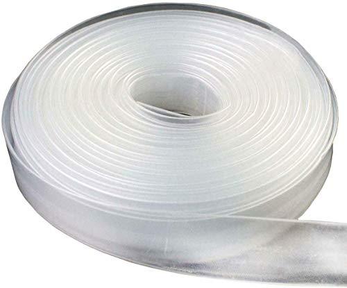 Schrumpfschlauch Transparent 2:1 Bund Meterware 1-40mm 1-5 Meter 40 mm 2 Meter