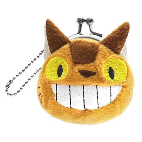 CoolChange Totoro Süßer Katzenbus Mini Geldbeutel aus Plüsch