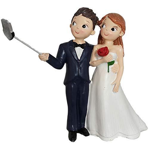 Windmill Sales, Inc. Cake Topper sposi con Bastone Selfie