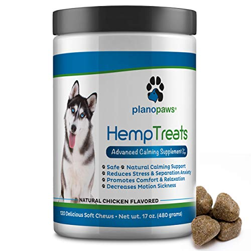 Hemp Treats - Safe Calming Treats for Dogs - Hemp...