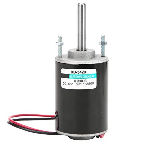 Mini 12/24V 30W Motor de CC de imán permanente Motor de engranaje...