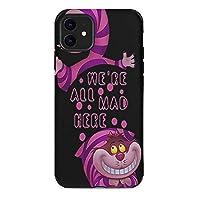 Alice In Wonderland 不思議の国 iPhone 11 ケース 対応 かっこいい おしゃれ ケース スマホ 携帯 高級感 超軽量 薄型 指紋防止 360°全面保護 擦り傷防止 耐衝撃カバー ストラップホール付き 滑り止め 黄変防止 6.1インチ
