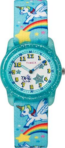 Timex Reloj Analógico para Unisex Niños de Cuarzo con Correa en Tela TW7C25600