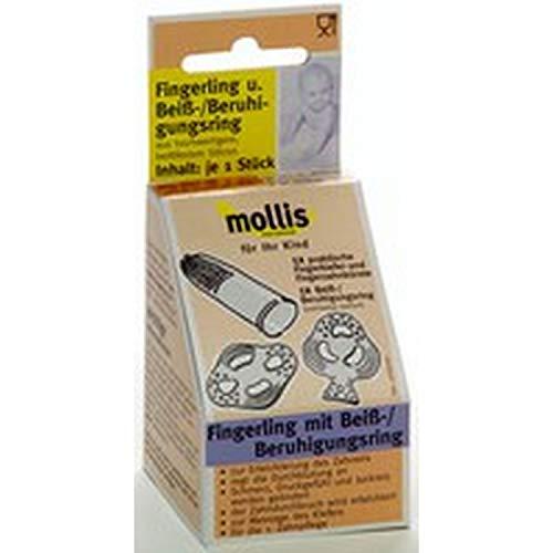 Mollis Fingerling und Beiß-/Beruhigungsring 1 Stk