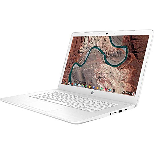 Hp 14 14' Chromebook Intel Celeron N3350 4GB Ram 32GB eMMC Snow White