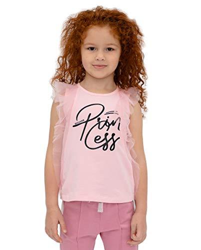 GULLIVER Kinderen Mouwloze Blouse Meisjes Mouwloze Top T Shirt Katoen 3-8 Jaar
