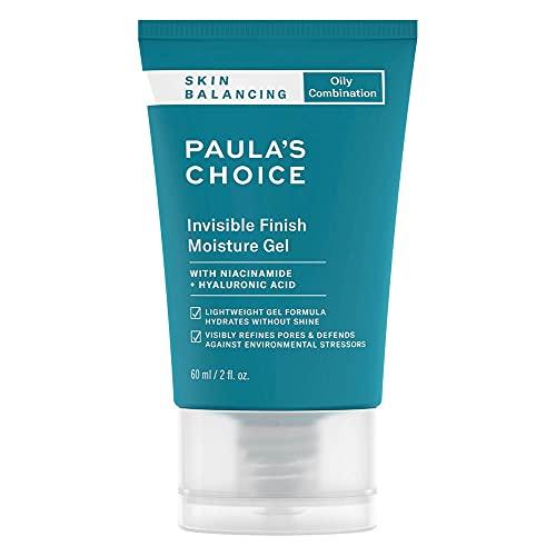 Paula's Choice Skin Balancing Gel Idratante Viso - Crema da Notte Combate i Pori Dilatati e i Punti Neri - con Niacinamide - Pelli Miste o Grasse - 60 ml