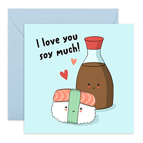Central 23 – Tarjeta de aniversario – 'I Love You Soy Much'...