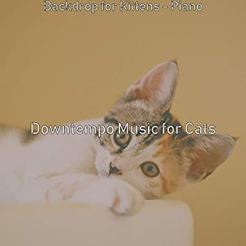 Backdrop for Kittens - Piano