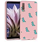 ZhuoFan Samsung Galaxy A7 2018 Case, Phone Cases Pink