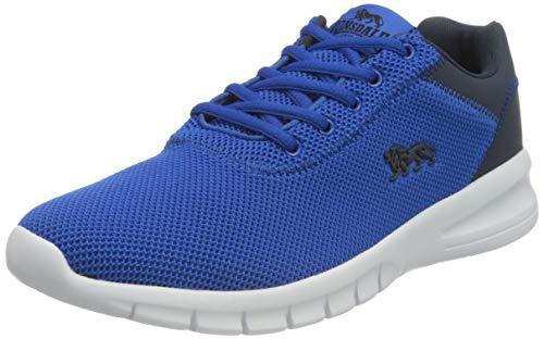 Lonsdale TYDRO, Zapatillas para Correr de Carretera Hombre, Azul Marino, 43 EU