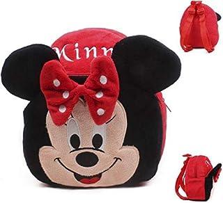 حقائب ظهر بتصميم رسوم متحركة على شكل ميكي ماوس وميني - للاطفال