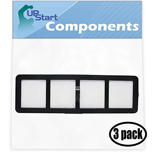 3-Pack Replacement EF-6 Filter 69963 for Eureka - Compatible with Eureka Airspeed, Eureka AirSpeed AS1000A, Eureka AS1000A, Eureka AS1000, Eureka AS1001A, Eureka AS1051A, Eureka AS1001, Eureka AirSpeed AS1001A, Eureka EF-6, Eureka AS1002A, Eureka AirSpeed AS1000