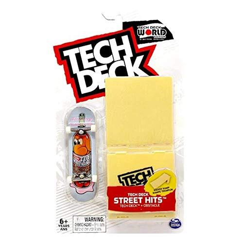 Mini Fingerboards TD World Editon Limited Series Santa Cruz Skateboards Rare Japanese Blossom Dot Complete Deck