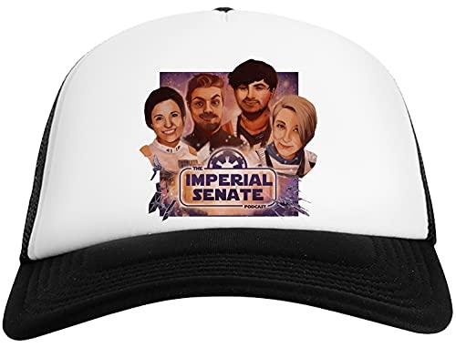 Imperial Senate Artwork - Imperial Senate Podcast Gorra De Béisbol para Hombre y Mujer con Malla Trasera Mens Womens Baseball Cap Mesh Back