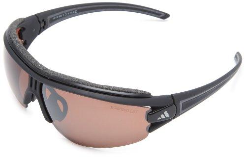 adidas Eyewear Evil Eye Halfrim Pro L Sonnenbrille, Polarized, Farbe matt Schwarz