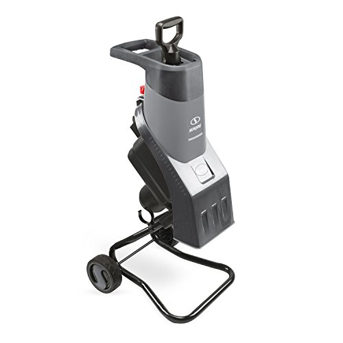 Sun Joe CJ602E-GRY 15 Amp Electric Wood Chipper/Shredder, Grey