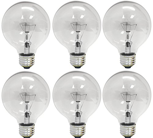 Clear Decorative Light Bulb - 1