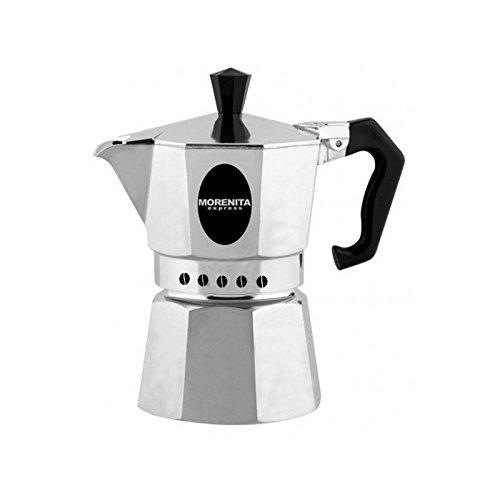 Aeternum 5986 Morenita Espressokocher aus Aluminium für 9 Tasse, silber