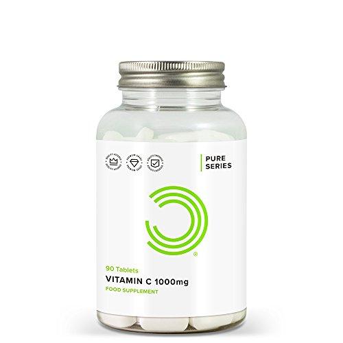 BULK POWDERS Vitamin C Tablets, 1000 mg, Pack of 90
