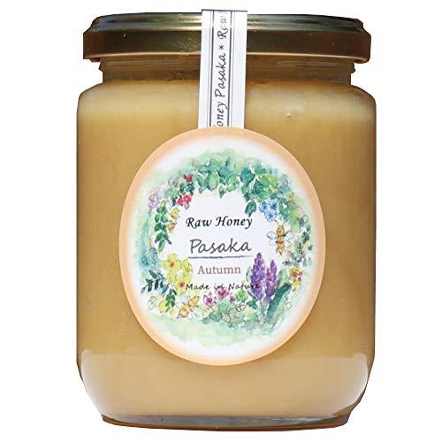 【数量限定北欧産】秋 生はちみつ 自然保護地区で採取された 天然 非加熱 だから酵素ビタミンミネラルがたっぷりの百花種の春、夏、秋、蜂蜜 【ギフト、お歳暮、お中元、お祝いに対応】(3代目養蜂家)【Raw Honey PASAKA】