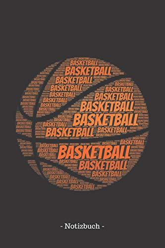 Basketball: Notizbuch, Notizblock | Kariert, Karierte, Kariertes, Karo-Raster | DIN A5, 120 Seiten | Notizen, Ideen, Gedanken, Erinnerungen, Termine, Planer, Tagebuch, Organisation