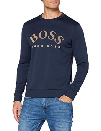 BOSS Herren Salbo Sweatshirt, Navy (411), M EU