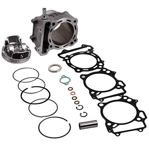 Kit de Extremo Superior de la Cabeza del pistón del Cilindro para Suzuki LTZ 400 434cc Big Bore 94mm 03-14 para LTZ DRZ 400 Top Fin Rebuild Kit Piston