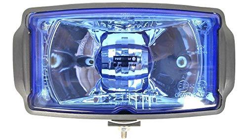 Zusatzscheinwerfer Blau 12/24V Universal