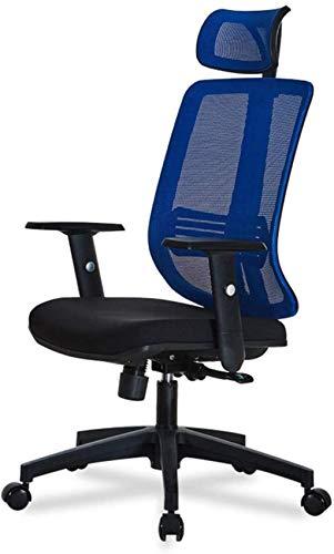 Sillas de Oficina Silla de Oficina Sillón de Escritorio Giratorio Ejecutivo con Base de Cromo Sillas de Escritorio de Oficina en casa