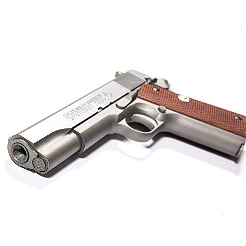 Cybergun Colt M1911 MKIV Serie 70 Co2 GBB Full Metal 6mm Caricatore: 14 Colpi E=0,90 J. Max Colt sku: 180529, Max velocità (Testato con 0,20g) : 344 FPS Lunghezza:21,9 cm