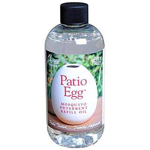 Skeeter Screen 90602 Patio Egg Diffuser Refill Oil, 8 oz, 8-Ounce